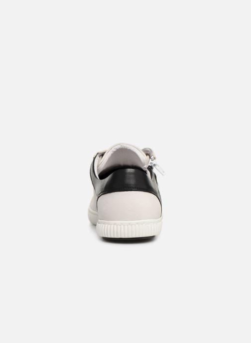 Baskets Pataugas Bump/MC C Blanc vue droite