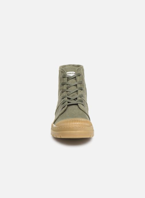 Baskets Pataugas Authentique/T M C Vert vue portées chaussures