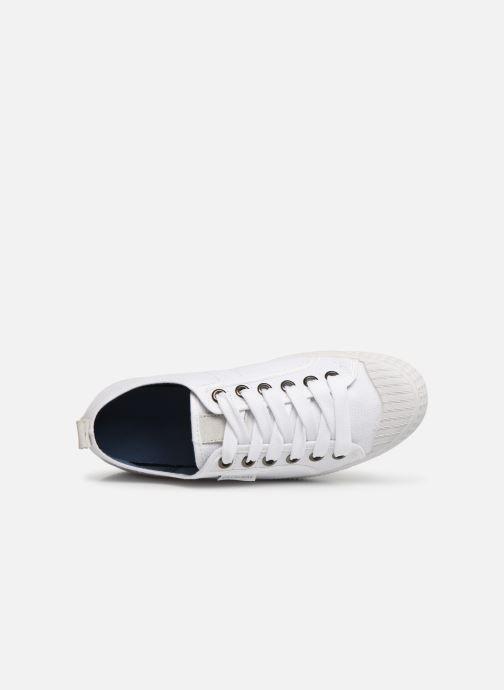 Sneaker Pataugas Piment C weiß ansicht von links