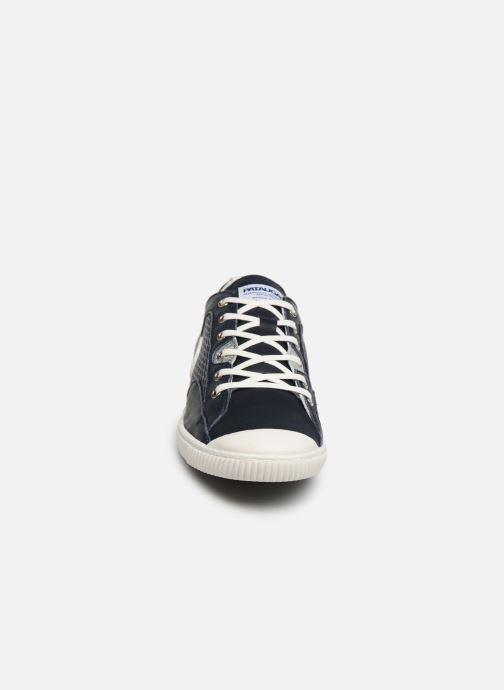 Baskets Pataugas Bali C Bleu vue portées chaussures
