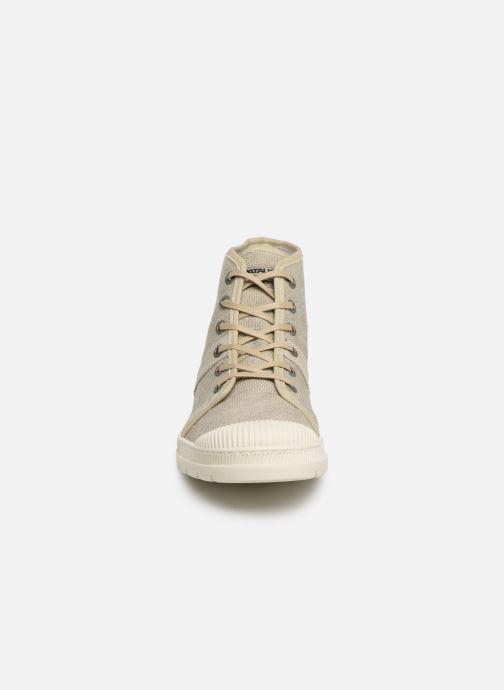 Baskets Pataugas Authentique/T C Beige vue portées chaussures