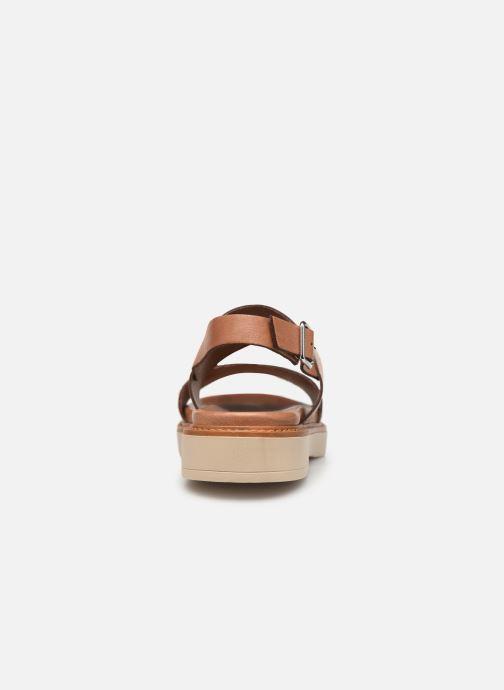 Sandales et nu-pieds Pataugas Line C Marron vue droite