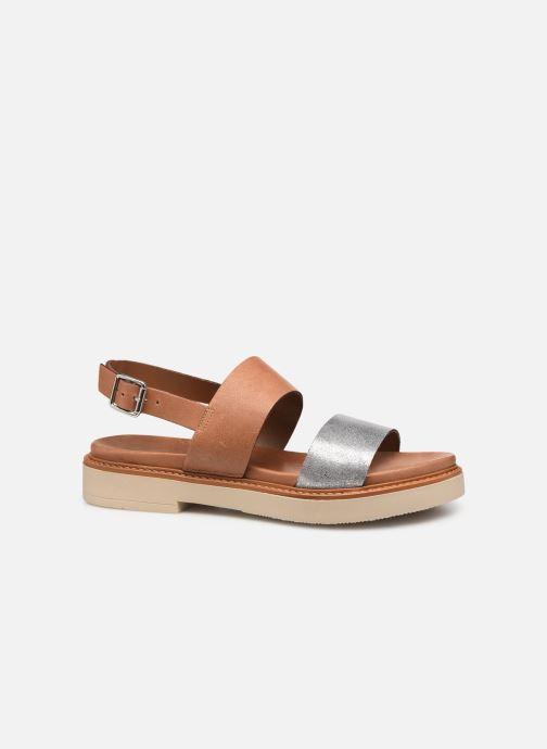 Sandales et nu-pieds Pataugas Line C Marron vue derrière