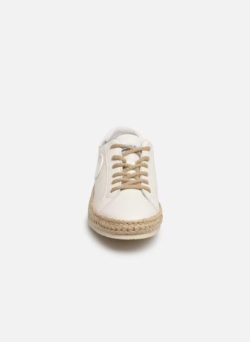 Espadrilles Pataugas Pam/N C Blanc vue portées chaussures