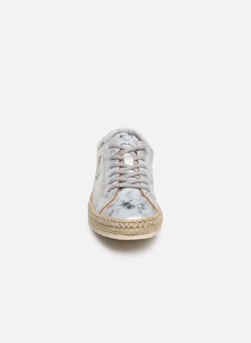 Espadrilles Pataugas Pam/M C Argent vue portées chaussures