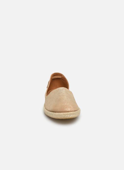 Espadrilles Pataugas EsteveM C Or et bronze vue portées chaussures