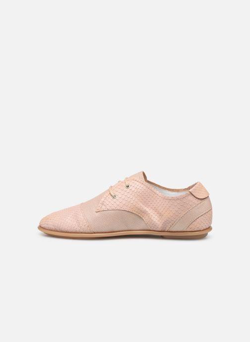 Chaussures à lacets Pataugas Swing/Mix C Rose vue face