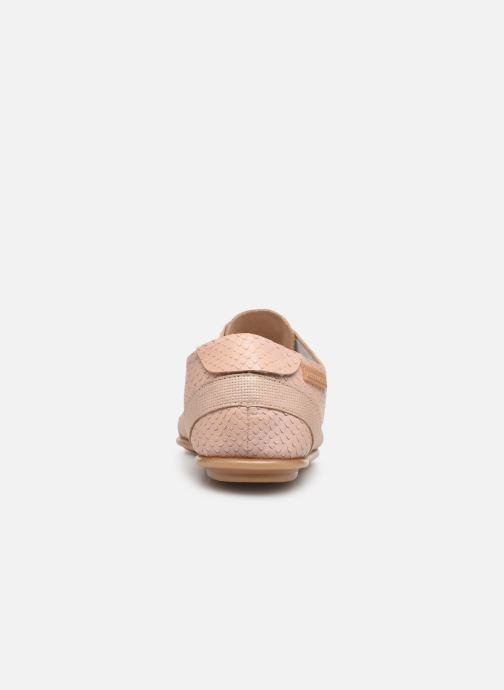 Chaussures à lacets Pataugas Swing/Mix C Rose vue droite