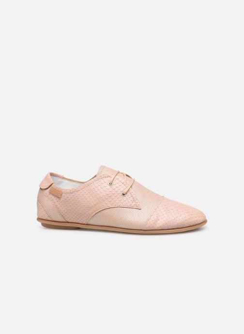 Chaussures à lacets Pataugas Swing/Mix C Rose vue derrière