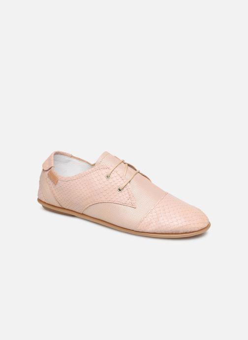 Chaussures à lacets Pataugas Swing/Mix C Rose vue détail/paire