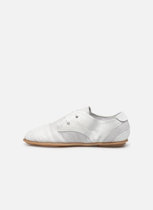 Chaussures à lacets Pataugas Swing/Mix C Blanc vue face