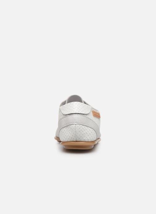 Chaussures à lacets Pataugas Swing/Mix C Blanc vue droite