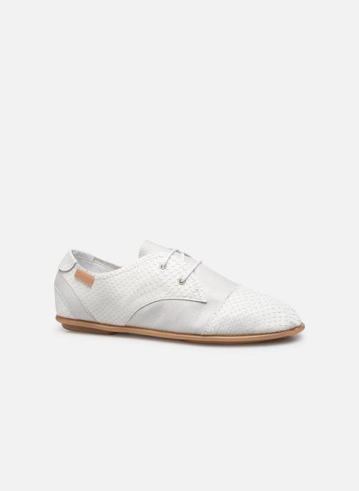 Chaussures à lacets Pataugas Swing/Mix C Blanc vue derrière