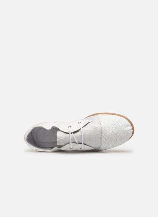 Chaussures à lacets Pataugas Swing/Mix C Blanc vue gauche