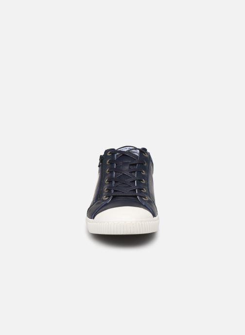 Baskets Pataugas Bump C Bleu vue portées chaussures