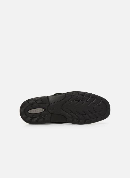 Chaussures à scratch Sledgers Benedict C Noir vue haut