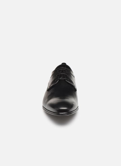 Lace-up shoes Sledgers Rouen C Black model view