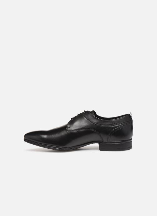 Lace-up shoes Sledgers Rouen C Black front view