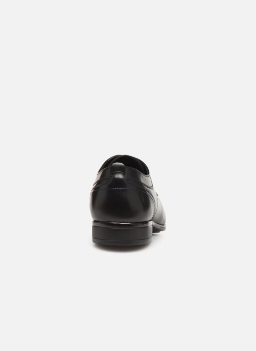Lace-up shoes Sledgers Rouen C Black view from the right