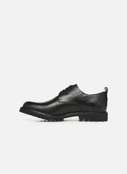 Zapatos con cordones Sledgers Atlanta C Negro vista de frente