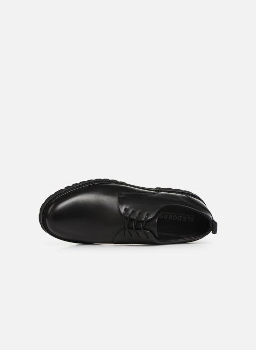 Zapatos con cordones Sledgers Atlanta C Negro vista lateral izquierda
