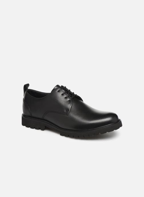 Zapatos con cordones Sledgers Atlanta C Negro vista de detalle / par