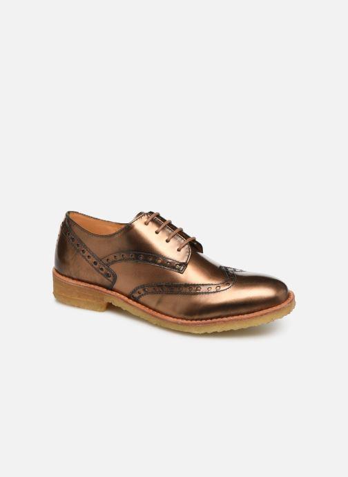 Zapatos con cordones TBS Arysonn Marrón vista de detalle / par