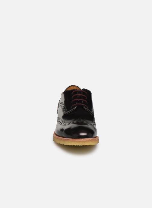 Chaussures à lacets TBS Arysonn Bordeaux vue portées chaussures