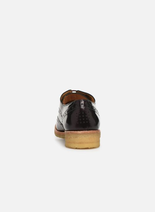 Lace-up shoes TBS Arysonn Burgundy view from the right