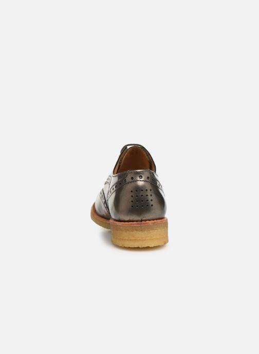 Chaussures à lacets TBS Arysonn Or et bronze vue droite