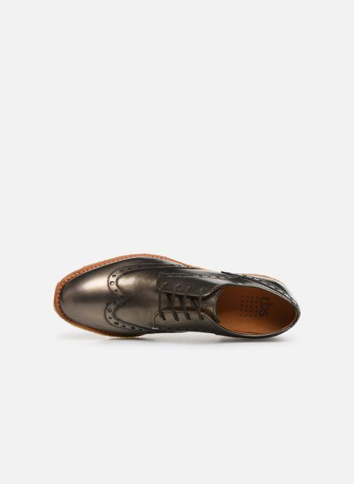 Chaussures à lacets TBS Arysonn Or et bronze vue gauche