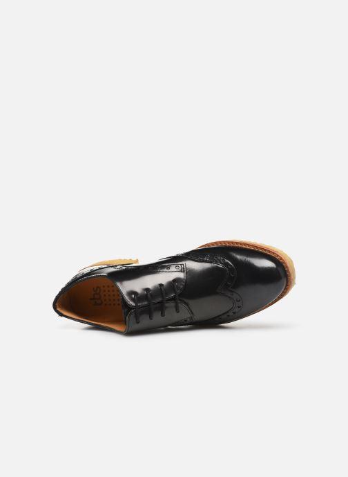 Zapatos con cordones TBS Arysonn Negro vista lateral izquierda