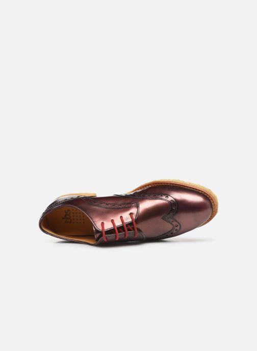 Chaussures à lacets TBS Arysonn Rose vue gauche