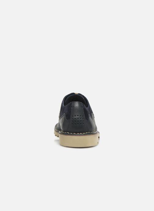 Scarpe con lacci TBS Camanot Azzurro immagine destra