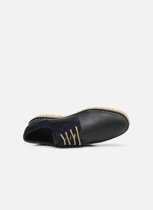 Scarpe con lacci TBS Camanot Azzurro immagine sinistra