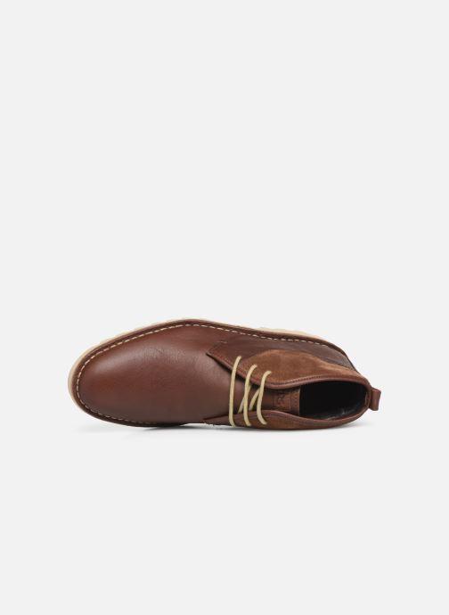 Bottines et boots TBS Campbel Marron vue gauche