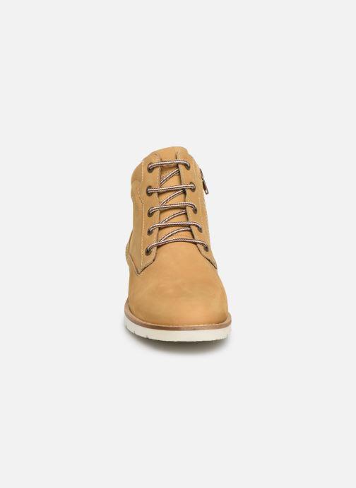 Stiefeletten & Boots TBS Carioca gelb schuhe getragen