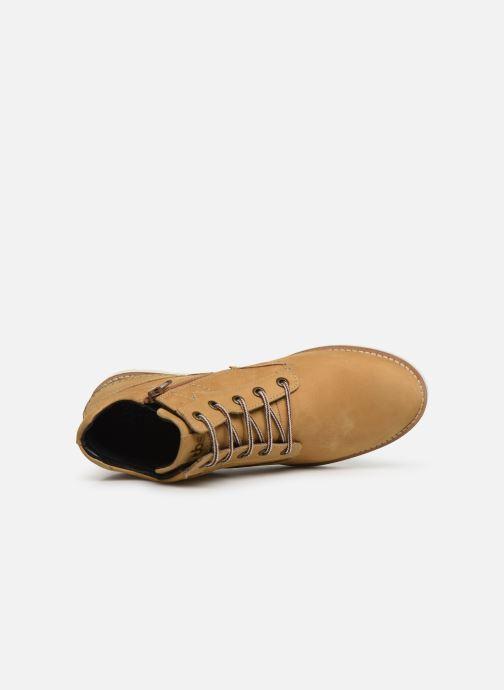 Bottines et boots TBS Carioca Jaune vue gauche