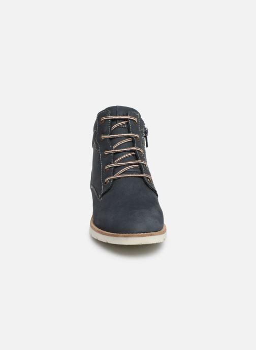 Stiefeletten & Boots TBS Carioca blau schuhe getragen