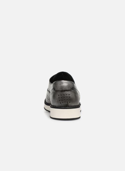 Zapatos con cordones TBS Langley Plateado vista lateral derecha