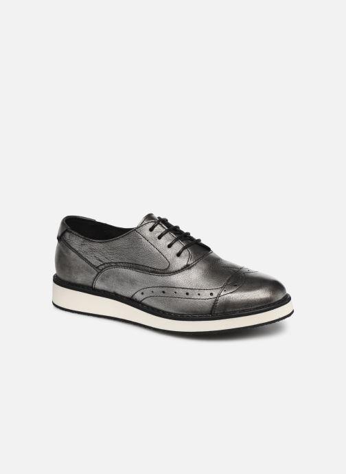Chaussures à lacets TBS Langley Argent vue détail/paire