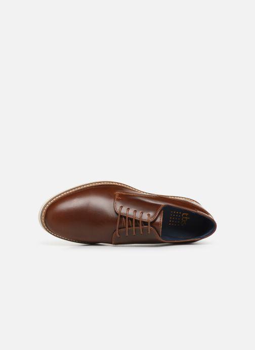Chaussures à lacets TBS Montova Marron vue gauche