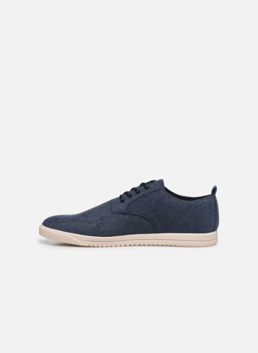 Sneakers Clae Ellington Textile Azzurro immagine frontale