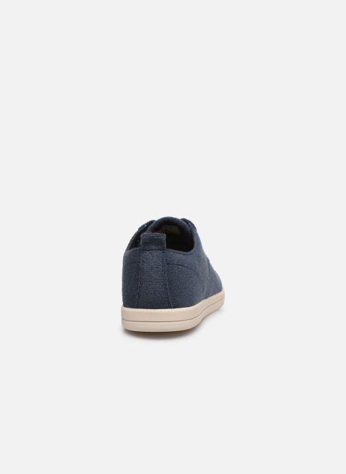 Sneakers Clae Ellington Textile Azzurro immagine destra