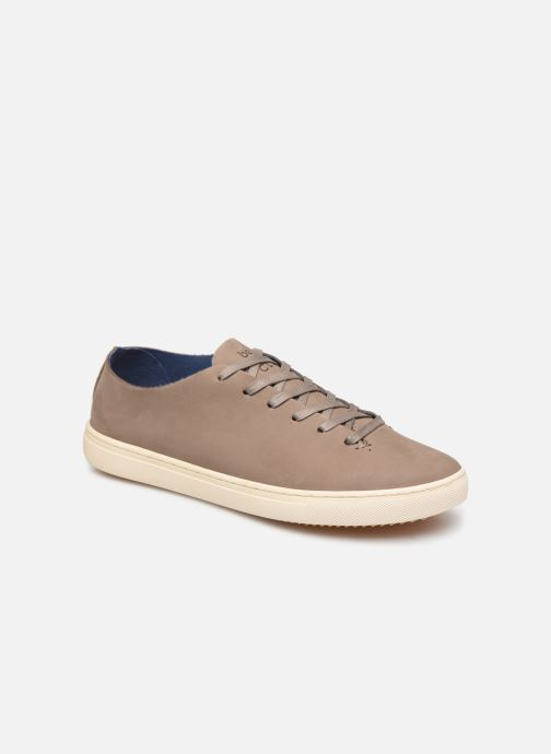Trainers Clae One Piece x Bellroy Brown detailed view/ Pair view