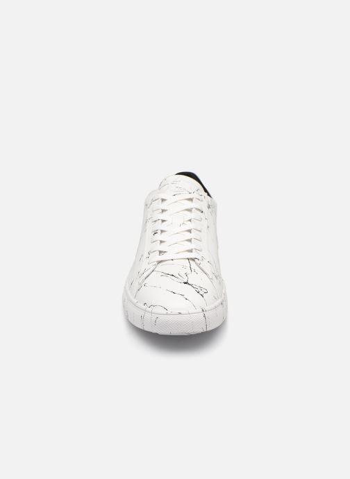 Baskets Clae Bradley x Son of Cobra Blanc vue portées chaussures