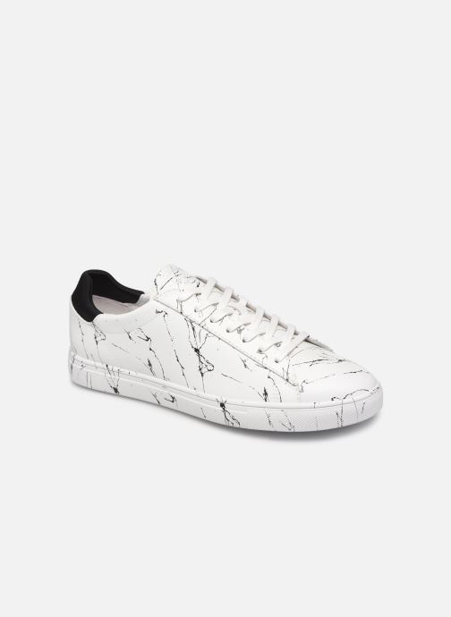 Baskets Clae Bradley x Son of Cobra Blanc vue détail/paire