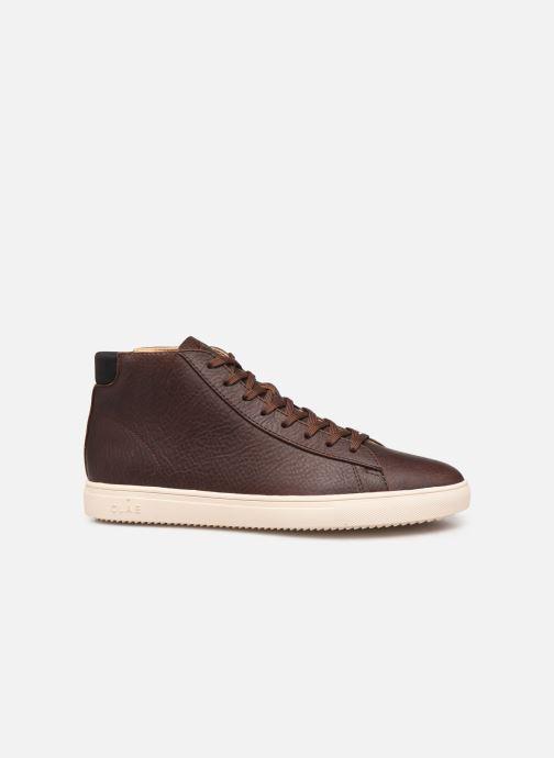 Sneakers Clae Bradley Mid Bruin achterkant