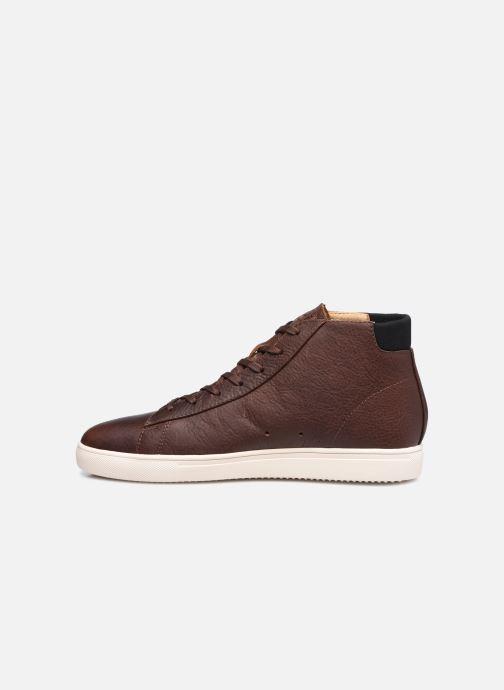 Sneakers Clae Bradley Mid Marrone immagine frontale