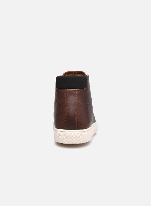Sneakers Clae Bradley Mid Marrone immagine destra